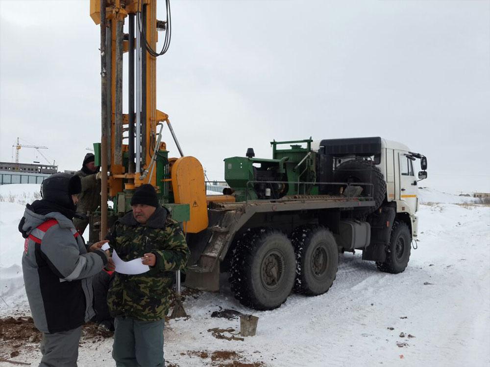 Заказать Инженерно-геологические изыскания площадок строительных