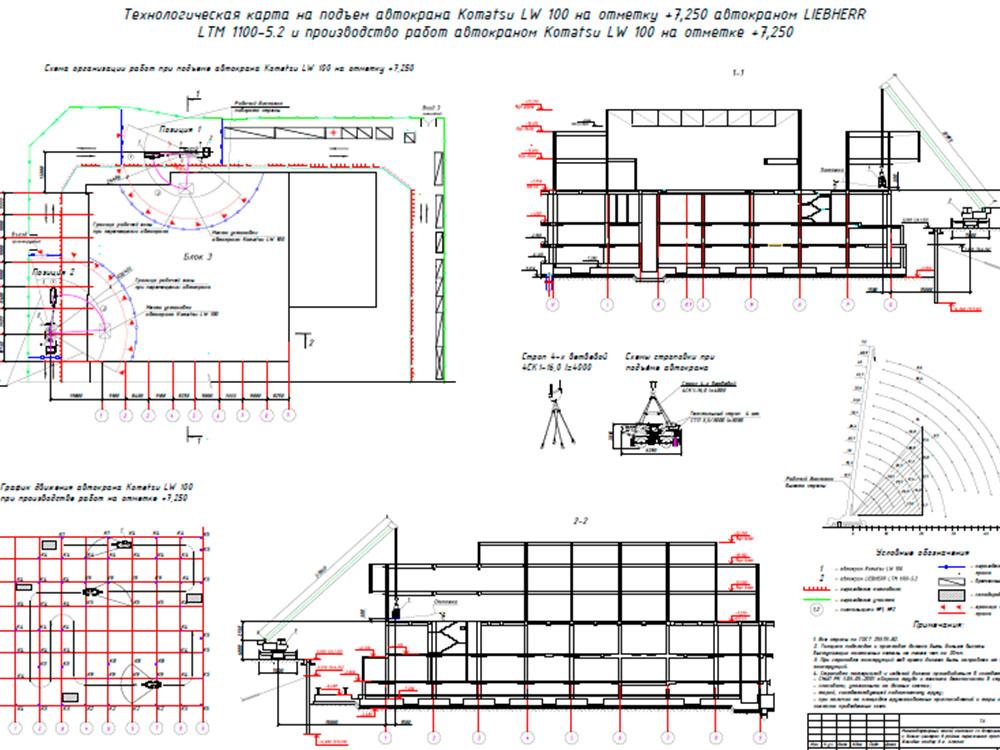Заказать Разработка ППР с использованием грузоподъемных механизмов (ППРК)
