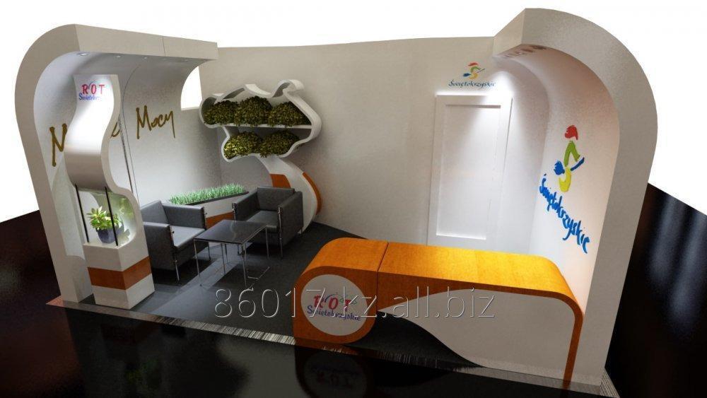 Заказать Дизайн и строительство выставочных стендов