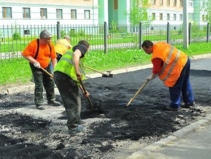 Заказать Латочный ремонт дороги в Актау