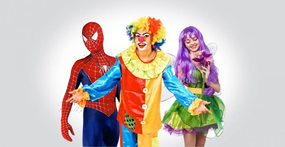 Заказать Аниматоры и клоуны на праздник в Атырау