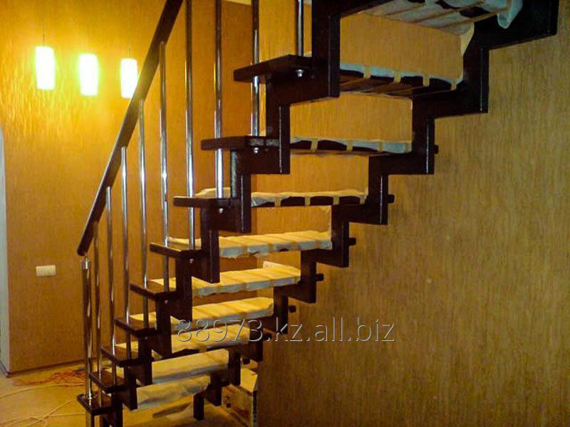 Заказать Изготовление лестниц на заказ. Каркас, Обшивка. Лестницы для ИЖС, коммерческих помещений, пожарные лестницы.