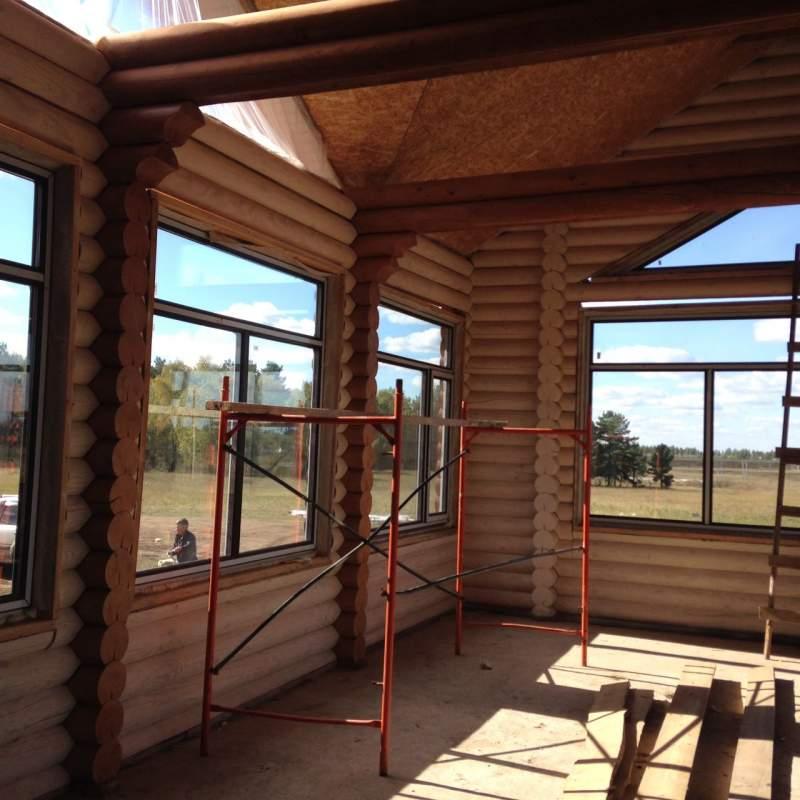 Заказать Строительство, ремонт деревянного дома