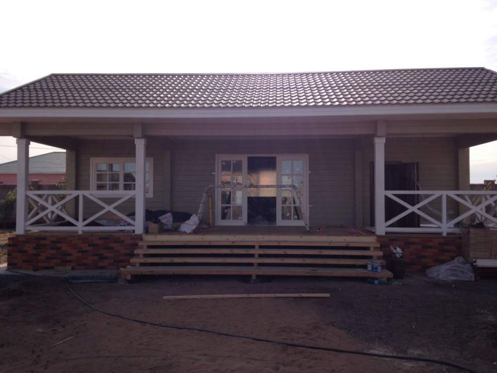 Order Construction of frame-fabricated houses