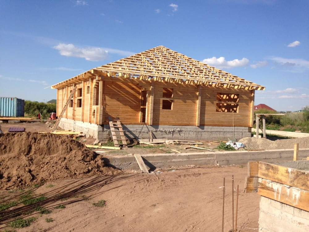 Заказать Услуги по строительству зданий деревянных