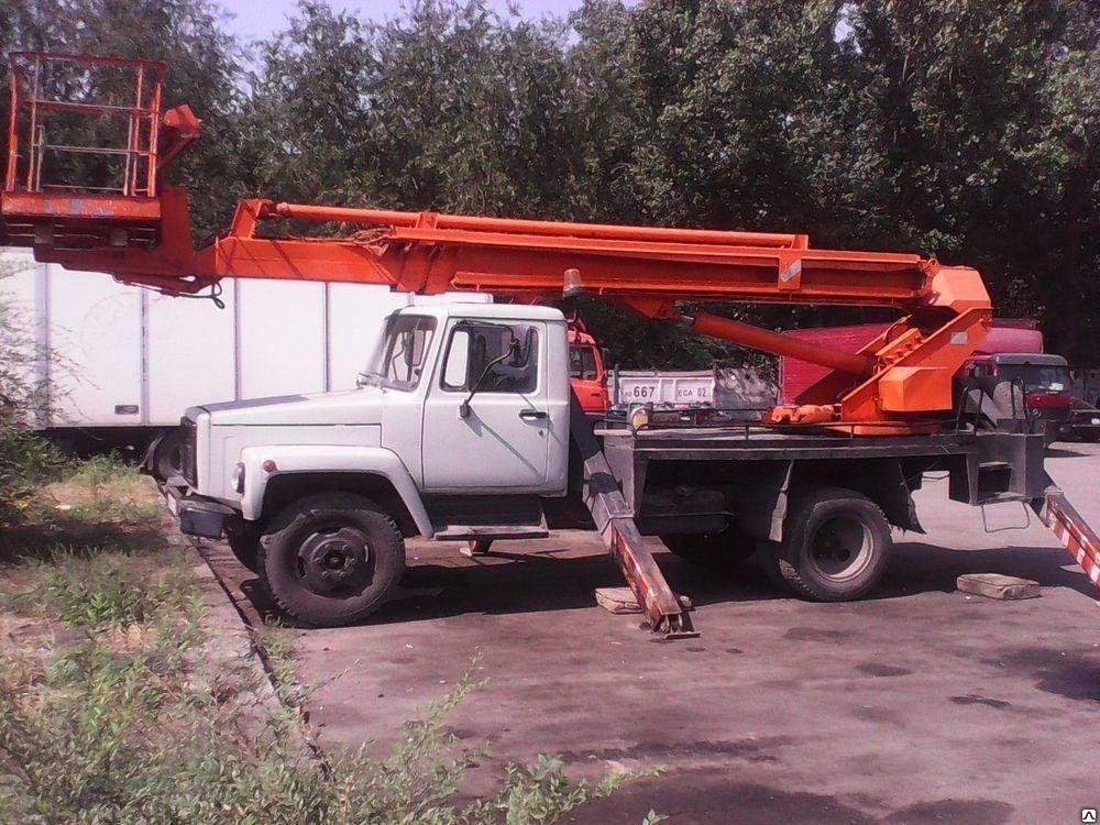 Услуги автовышки АГП 22м