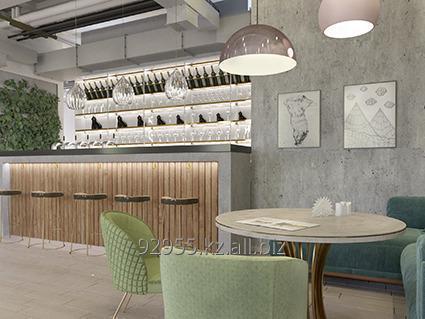 Заказать Дизайн интерьера баров и ресторанов