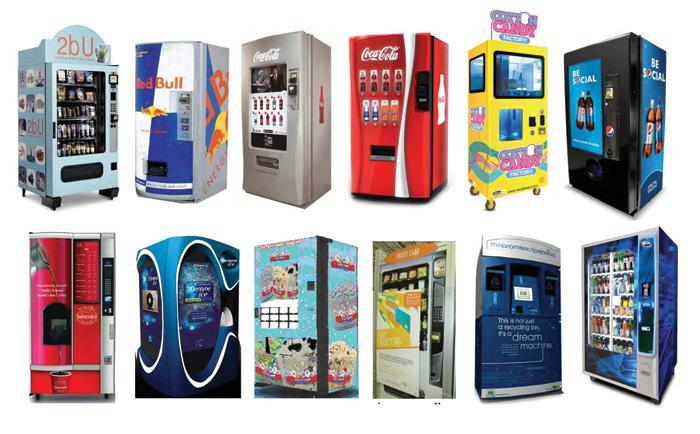 Заказать Реклама на автоматах торговых