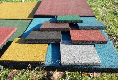 Изготовление резиновой плитки