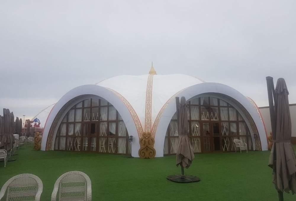 Заказать Изготовление каркасно-тентовых палаток, шатров