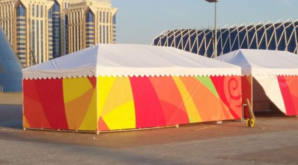 Заказать Изготовление тентовых палаток, шатров