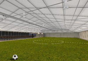 Заказать Строительство быстровозводимых спортивных сооружений под ключ.