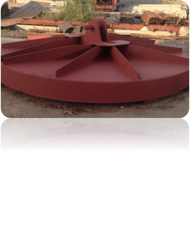 Заказать Изготовление «Крышки сталеразливочного ковша»