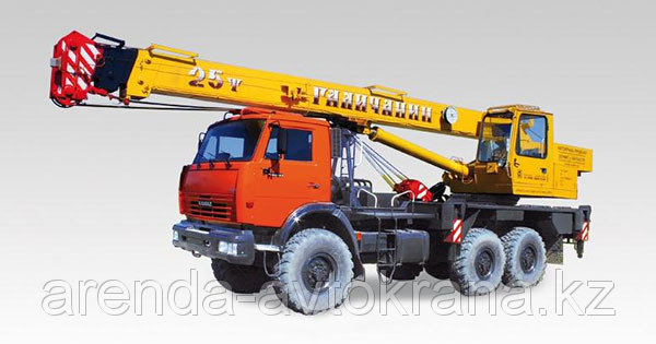 Order Services of a truck crane
