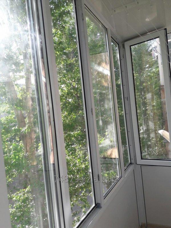 Заказать Остекление балконов и лоджий Караганда