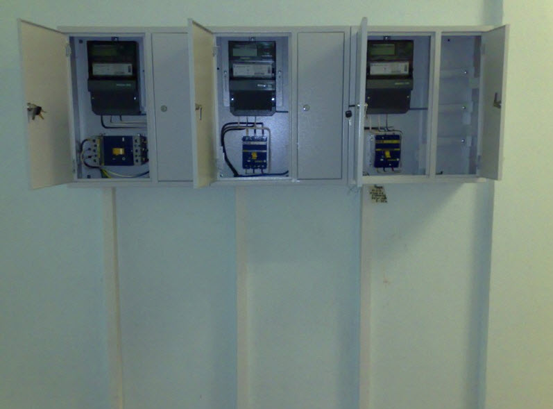 Order Installation of electric equipmen
