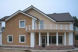 Order Finishing of facades, exterior finish of buildings and facades