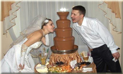 Заказать Аренда шоколадных фонтанов