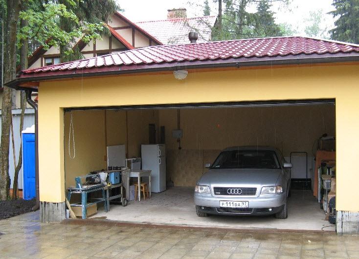 Заказать Строительство гаражей