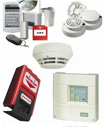 Заказать Установка систем пожарной сигнализации