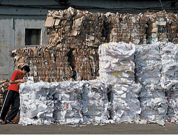Order Purchase of waste paper