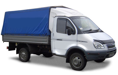We carry out a cargo transportation by car Gazelle, Service
