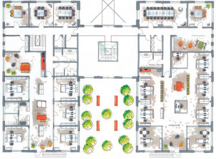Разработка архитектурных и дизайн-проектов, Разработка дизайн-проекта, расстановки мебели;