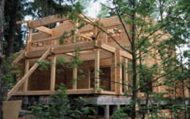 Заказать Строительство домов из деревянного клееного бруса