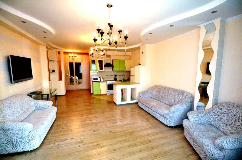 Аренда квартир посуточно, Комфортабельная квартира посуточно Левый берег в Астане 11000 тг.