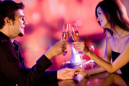 Order Romantic dinner