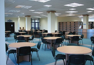 Order Equipment, furniture and internal finishing of rooms, Design of a reading room in KIMEP library