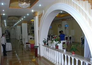 Order Equipment, furniture and internal finishing of rooms, Registration of the foyer and interior of buffet in Yalyan hotel