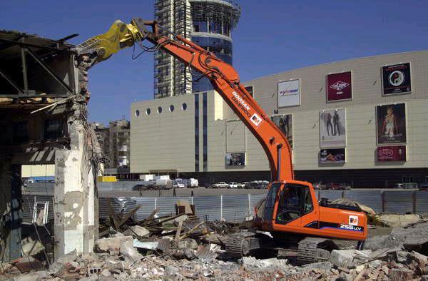 Заказать Снос зданий и сооружений