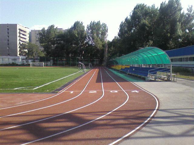 Укладка спортивных покрытий для игровых площадок