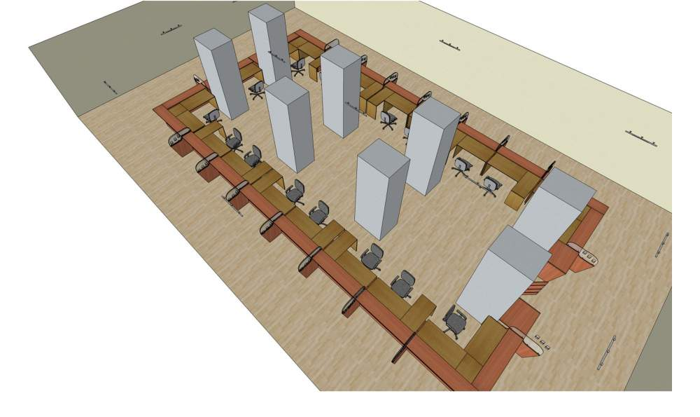 Order 3D - sketches of an interior to Almaty, Outline design of interior design