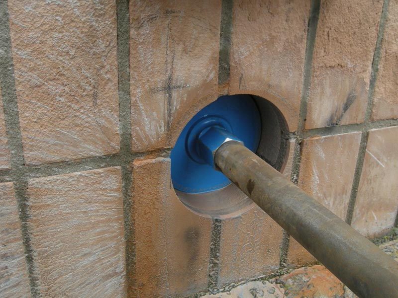 Как в бетонной стене сделать отверстие для розетки