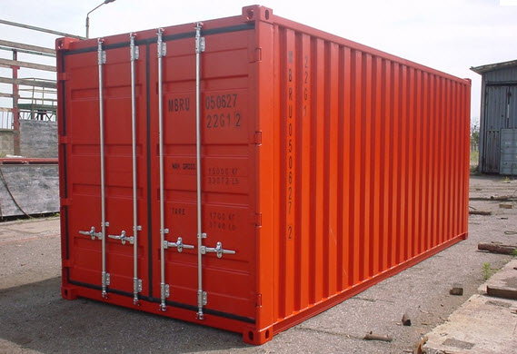 Order Transportation of goods by standard containers