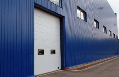 Заказать Строительство промышленных зданий из металлических каркасов