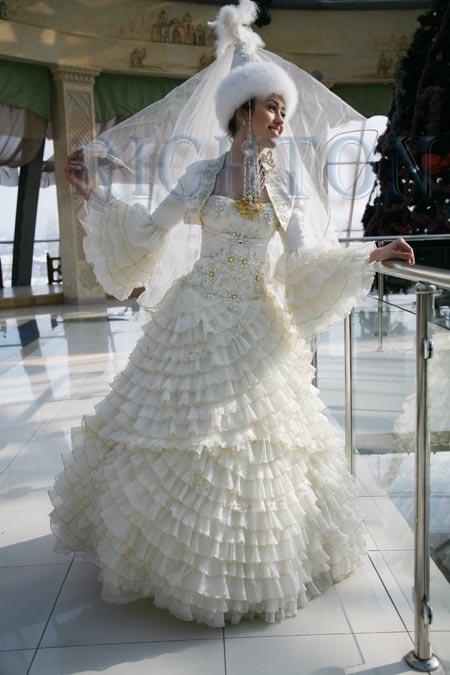 1ef7ec8acf2 Прокат свадебных казахских платьев на кыз узату той. заказать в Алматы