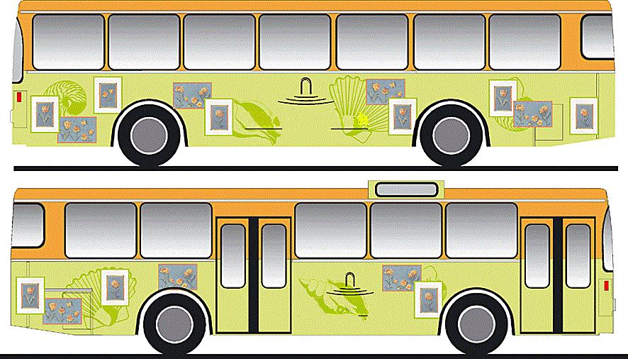 Order Advertizing on public transpor