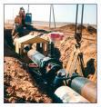 Монтаж магистральных трубопроводов