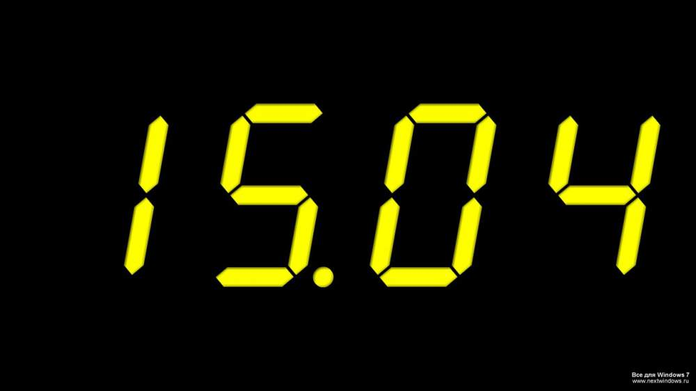 заставка часы на рабочий стол windows № 203984  скачать