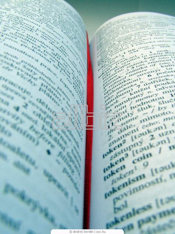 Заказать Письменные языковые переводы