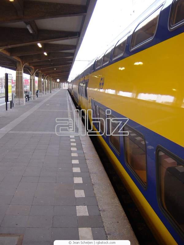 Заказать Перевозки пассажирские железнодорожным транспортом
