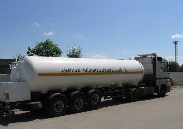 Transportation of dangerous chemicals, dangerous loads order in Shymkent
