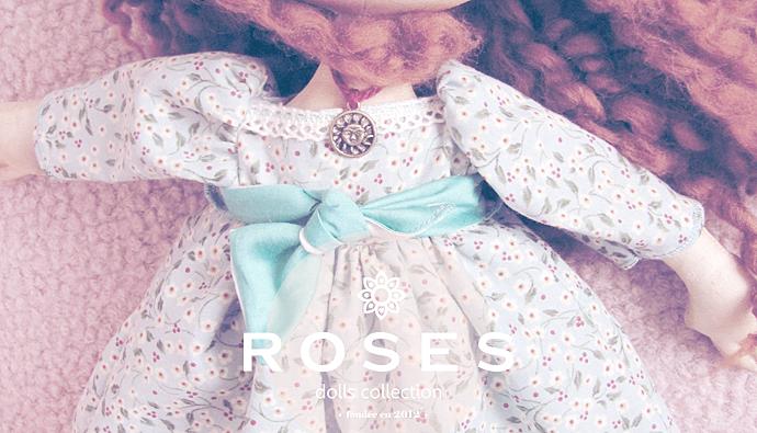 Заказать Разработка фирменного стиля для Roses Dolls Collection