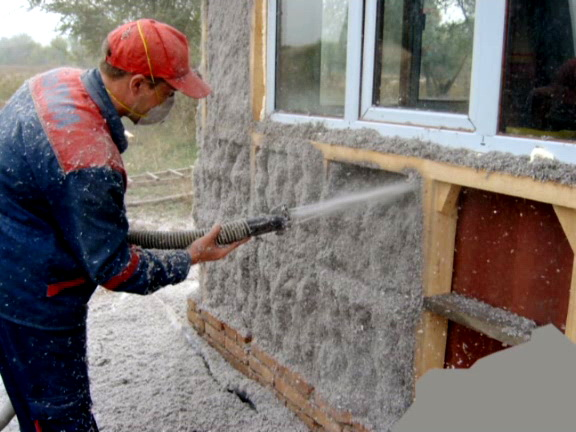 Order Warming of walls, floors, ceilings and roof Ekovata