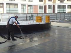 LINE-X, покрытие для паркинга, защита бетона,