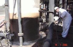 LINE-X,покрытие ёмкостей для горючих материалов