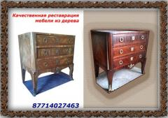 Реставрация антикварной деревянной мебели